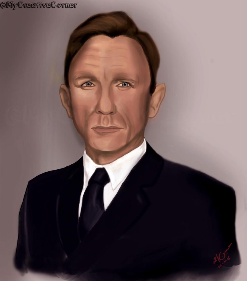 Daniel Craig par hussainbt